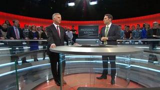 «Präsidialarena»: Burkhalter will Beziehung mit EU auf Augenhöhe