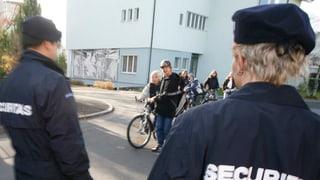 Private Sicherheitsdienste dürfen nicht einmal Stecker ziehen