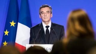 Muss ein Ersatzkandidat für François Fillon her?