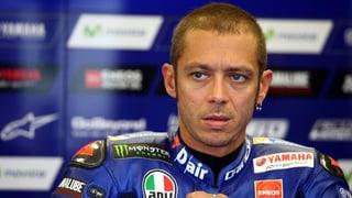 Schien- und Wadenbeinbruch: Rossi schwer gestürzt