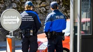 Grenzpolizisten im Tessin erhalten Verstärkung. Ein interkantonales Polizeikorps soll helfen.