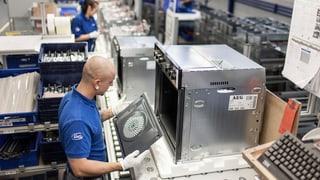 Electrolux schliesst Werk in Schwanden