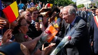 Scheidender König beschwört Einheit Belgiens