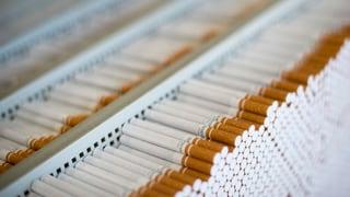 Tabaksteuer wird vorläufig eingefroren