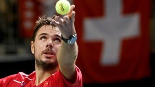 Davis Cup: Wawrinka batta de Bakker