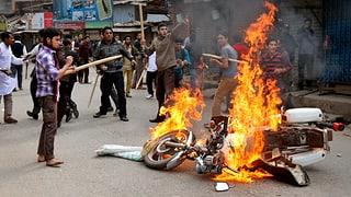 Tote nach politischen Unruhen in Bangladesch