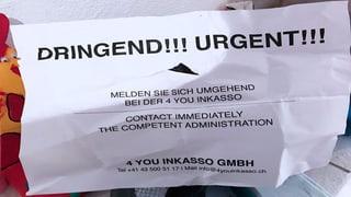 Inkasso-Firma stellt Schuldner an den Pranger