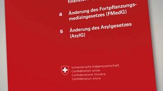 Parteien gemeinsam für die Asylgesetz-Reform – gegen die SVP