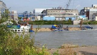 Basler Schiffsunglück: Schifffahrt wieder offen