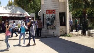 Der Campus von Damaskus: Das ganz normale Leben am Abgrund