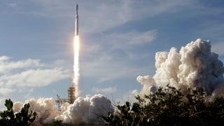 Ein Start, der Raumfahrtgeschichte schreibt