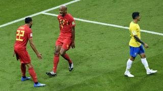 Teuflisch effiziente Belgier im WM-Halbfinal