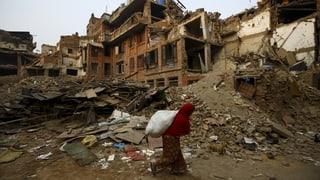 Zerstörung in Nepal weit massiver als angenommen
