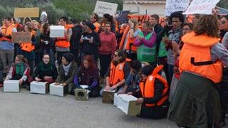 Nervöse Stimmung in Griechenland vor Rückführung von Flüchtlingen