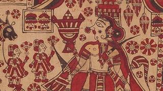 Tragbare Tempel für indische Göttinnen