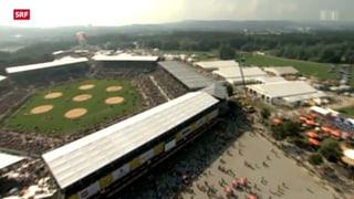 Bereit für 300'000 Menschen am Schwingfest in Burgdorf