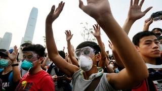 Hongkongs Regierung widersetzt sich Rücktritts-Ultimatum