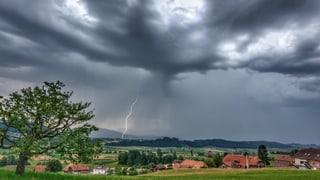 Grosser Sachschaden nach heftigen Gewittern
