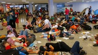 Katastrophale Zustände an Budapester Bahnhof