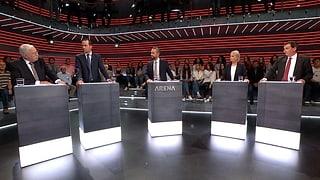 «Arena»: Wird das EU-Dossier ausgebremst?