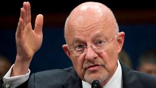 Ertappter Datenjäger: US-Spionagechef kanzelt Medien ab