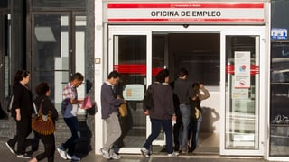 Spanien meldet Massenarbeitslosigkeit