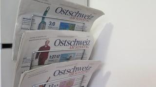 «Ostschweiz am Sonntag» nur noch digital