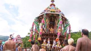 Die hinduistische Götterwelt hält Einzug in die Schweiz