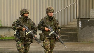 Zu wenig Frauen in der Armee