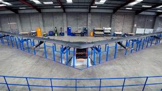 Die Facebook-Drohne bringt Internet-Zugang mit Laser