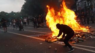 Haftstrafe für G20-Chaot