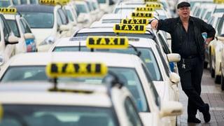 Europas Taxifahrer protestieren gegen ungeliebte Konkurrenz