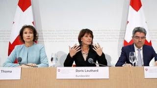 Bundesrat empfiehlt Nein zur Atomausstiegs-Initiative