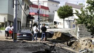 Erdbeben und Erdrutsche fordern mehrere Tote