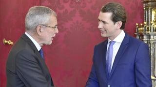 Van der Bellen kündigt Neuwahlen auf Anfang September an