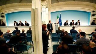 Italien vor Zerreissprobe mit der EU
