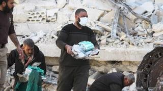Raketen auf Spitäler: Assad-Regime mitschuldig