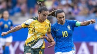 Australien mit spektakulärer Wende gegen Brasilien