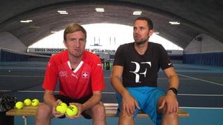 Werden Büssi und Manu Roger Federers Balljungen?
