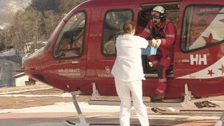 Blutinfusionen im Helikopter – ein Novum in der Schweiz