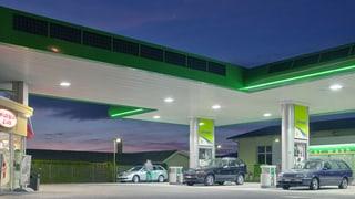 Keine Beschränkungen für Tankstellenshops