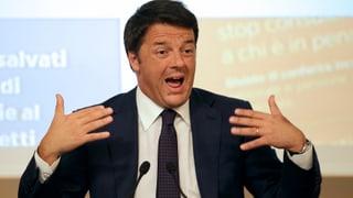 Renzi kämpft gegen die schleichende Entmachtung