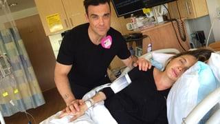 Robbie Williams zum zweiten Mal Papa: Es ist ein Baby-Boy