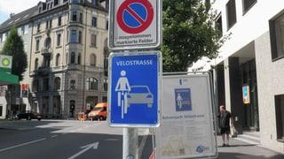 Luzern startet den Pilotversuch mit den Velostrassen
