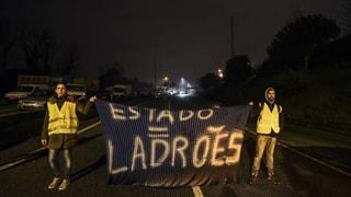 «Gelbwesten»-Protest à la portugaise