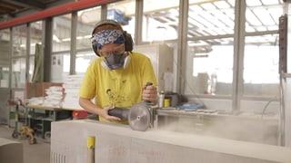Video «Berufsbild: Steinmetzin EFZ» abspielen