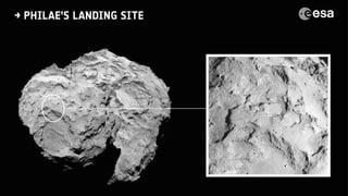 Erste Kometenlandung in der Geschichte der Raumfahrt steht bevor