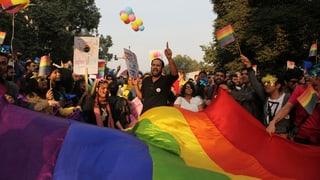 In Indien ist Homosexualität wieder strafbar