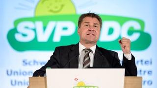 Bundesratswahl: SVP-Chef schlägt Dreierticket vor