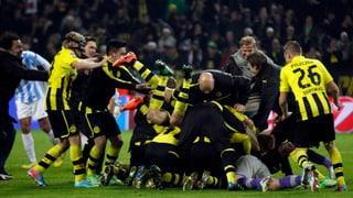Dortmund sensationell im Halbfinal